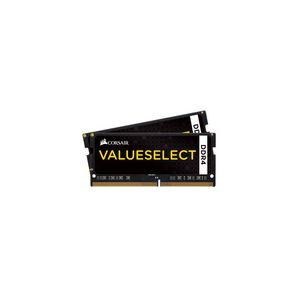 Corsair CMSX32GX4M2A2666C18 - Barrette mémoire Value Select SO-DIMM DDR4 32 Go (2 x 16 Go) 2666 MHz CL18