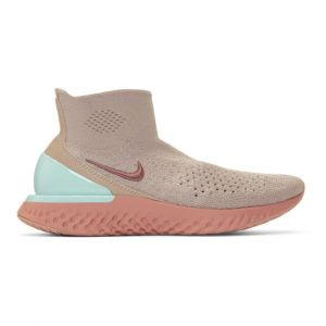Nike Chaussure de running Rise React Flyknit pour Femme - Marron - Taille 36.5 - Female
