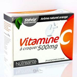 Nutrisanté Vitamine c 500 effervescents
