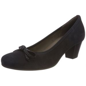 Gabor Shoes Basic, Escarpins Femme, Bleu (Pazifik), 40 EU
