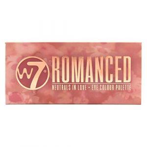 W7 cosmetics Romanced - Eye colour palette