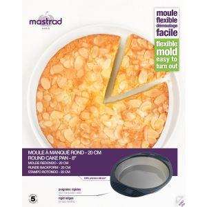 Mastrad Moule à manqué rond en silicone (20 cm)