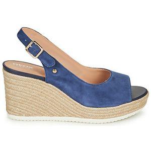 Geox Sandales D PONZA Bleu - Taille 39
