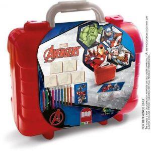 Multiprint Set de voyage malette de dessin Avengers