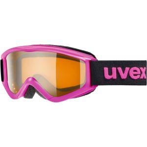 Uvex Speedy pro Lunettes de protection Enfant, pink/lasergold Masques Ski & Snowboard