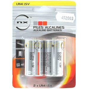 Image de Nx Pile alcaline blister LR14 (C) 1.5V