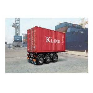 Italeri Maquette Remorque : Semi-Remorque - Container 20' Tecnokar