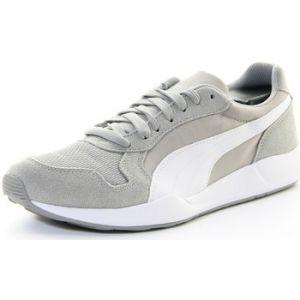 Puma St Runner Plus, Sneakers Basses Adulte Mixte - Gris - Grau (Limestone Gray-White-Gold 03), 46