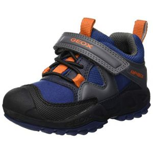 Geox Chaussures enfant J NEW SAVAGE BOY B A bleu - Taille 36,37,38,24,25,26,27,30,32,33,34,35