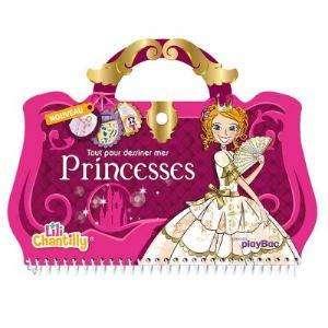 Play Bac Lili Chantilly - Tout pour dessiner mes princesses
