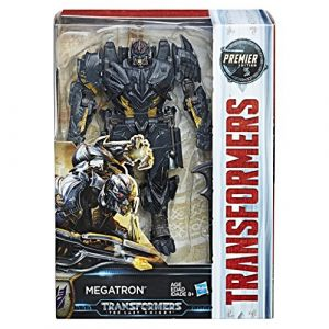 Hasbro Transformers : The Last Knight - Premier Edition Voyager Class Megatron - Figurine 15 cm