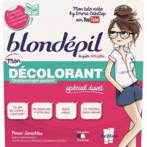 Blondépil Mon décolorant spécial duvet peaux sensibles
