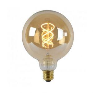 Lucide Ampoule E27 LED - 5W - 260lm - 2200K D12,5 cm - Ambre filament - Dimmable