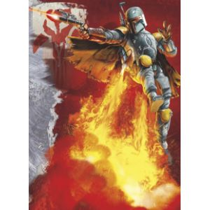 Komar Papier peint Boba Fett Star Wars (184 x 254 cm)