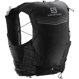 Salomon Adv Skin 12 Set - Sac à dos trail taille XS, noir