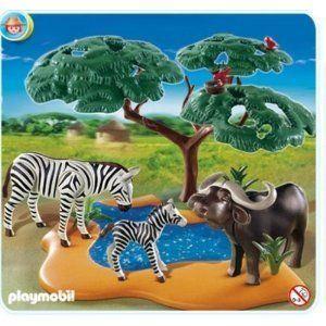 Playmobil 4828 - Buffle africain avec zèbres