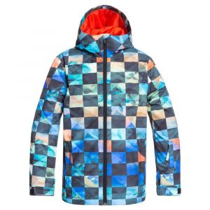 Quiksilver Vestes Mission Printed Youth - Poinciana Ongrid - Taille 8 Années