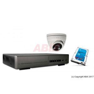 Dexlan Kit vidéosurveillance IP NVR 2To + caméra dôme