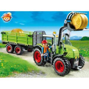 Playmobil 5121 - Grand tracteur avec remorque