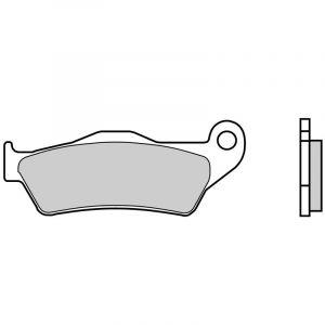 Brembo Plaquettes de frein métal fritté 07BB04SX