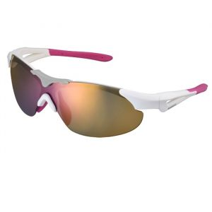 Shimano Lunettes vélo S40RS - Blanc/Rose