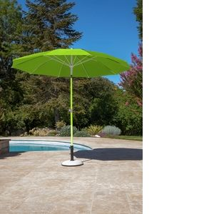 Proloisirs Parasol rond inclinable D 270 cm