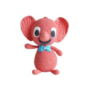 Littlephant Peluche musicale - red