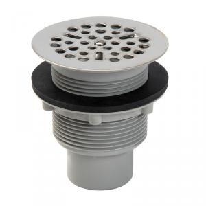 Nicoll SDFH - Bonde de douche siphoide à grille sortie verticale diamètre 60