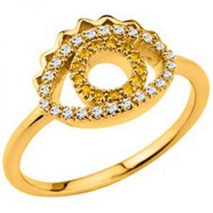 Kenzo 702413401030 - Bague pour femme en plaqué or