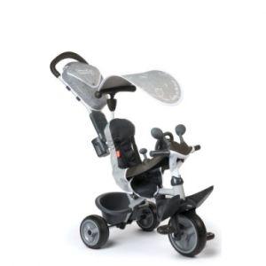 Smoby Tricycle évolutif Driver confort Titan noir gris