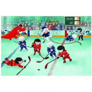 Eurographics Hockey de Ligue Junior - Puzzle 60 pièces