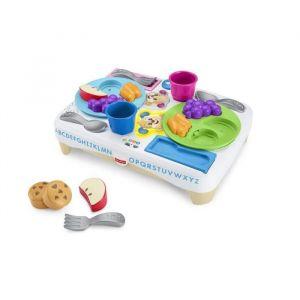 Mattel Table petit déjeuner Puppy