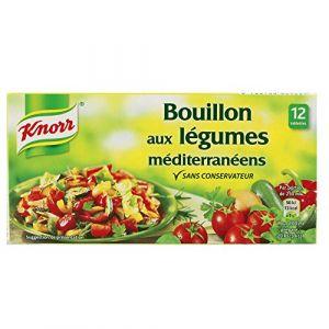 Knorr Bouillon Légumes Méditerranéens 12 Cubes 132 g
