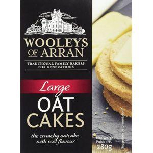 Wooleys Large Oatcakes 280 g - Lot de 6