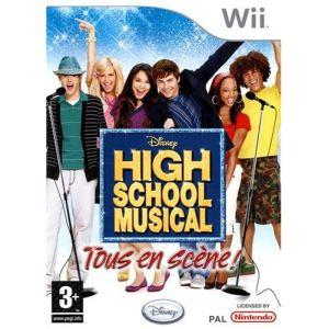 High School Musical : Tous En Scène ! (avec micro) [Wii]