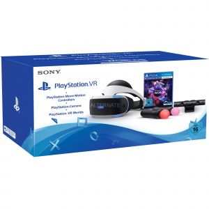 Sony Playstation VR : Camera + Move Motion + VR Worlds