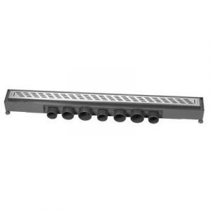Wirquin Caniveau grille traits Express'Eau 665x43 mm