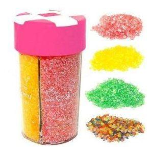 Scrapcooking Boîte distributrice de paillettes de sucre colorés