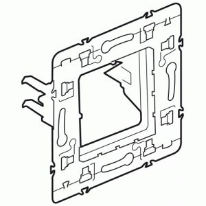 Legrand Support pour fixation 2 modules à griffes