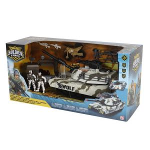 LGRI Coffret Figurines Soldier Force Tundra Patrol Tank