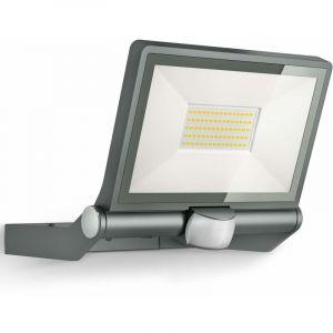 Steinel XLED ONE XL Anthracite, Projecteur LED d'extérieur à détection,détecteur de mouvement 180°, 43,5 W, 4400 lm à 3000K, aluminium