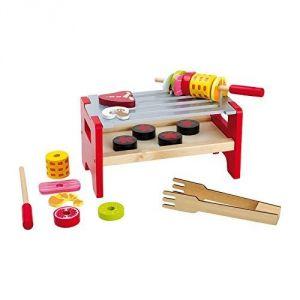 Legler 5864 - Barbecue de table et brochettes