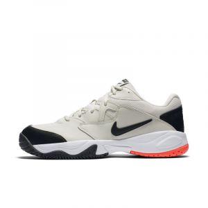Nike Chaussure de tennis pour surface dure Court Lite 2 pour Homme - Crème - Taille 43 - Male