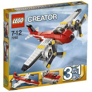 Lego 7292 - Creator 3 en 1 : L'avion à double hélices