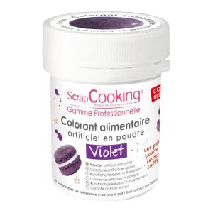 Scrapcooking Colorant artificiel en poudre violet