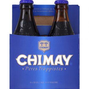 Chimay Basket pack bleue 4x33 cl vp 9