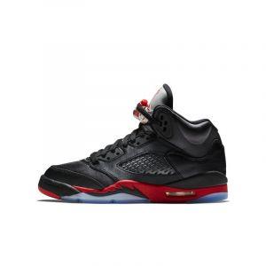 Nike Chaussure Air Jordan 5 Retro pour Enfant plus âgé (35,5-40) - Noir - Taille 38