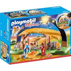 Playmobil Crèche avec illumination Christmas - 9494