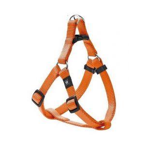 Karlie Harnais orange Art Sportiv Plus Flamingo Taille L Grands chiens Largeur 25 mm Longueur 60/90 cm