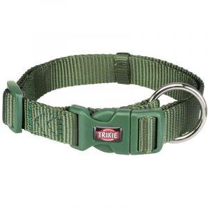 Trixie Premium collier - M-L: 35-55 cm/20 mm, vert forêt